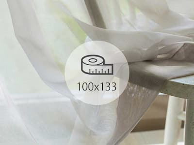 レースカーテン 100×133