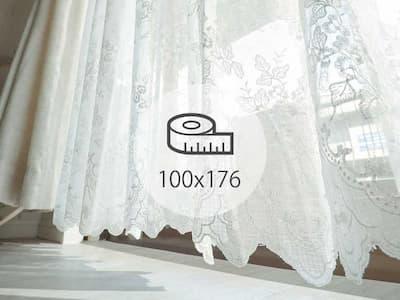 レースカーテン 100×176