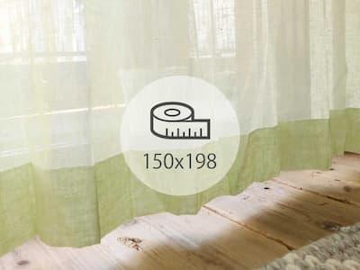 レースカーテン 150×198