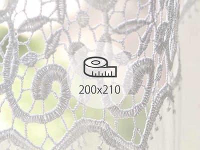 レースカーテン 200×210