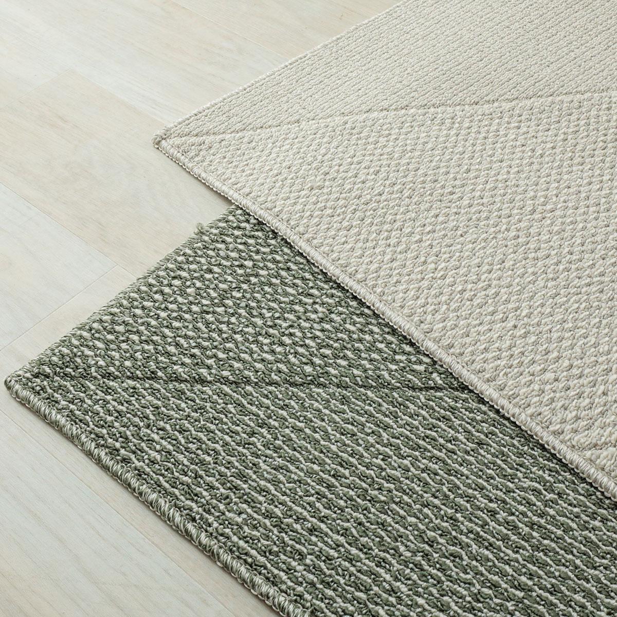 びっくりするほど汚れが落ちる高機能日本製デザインラグ「トーロ」
