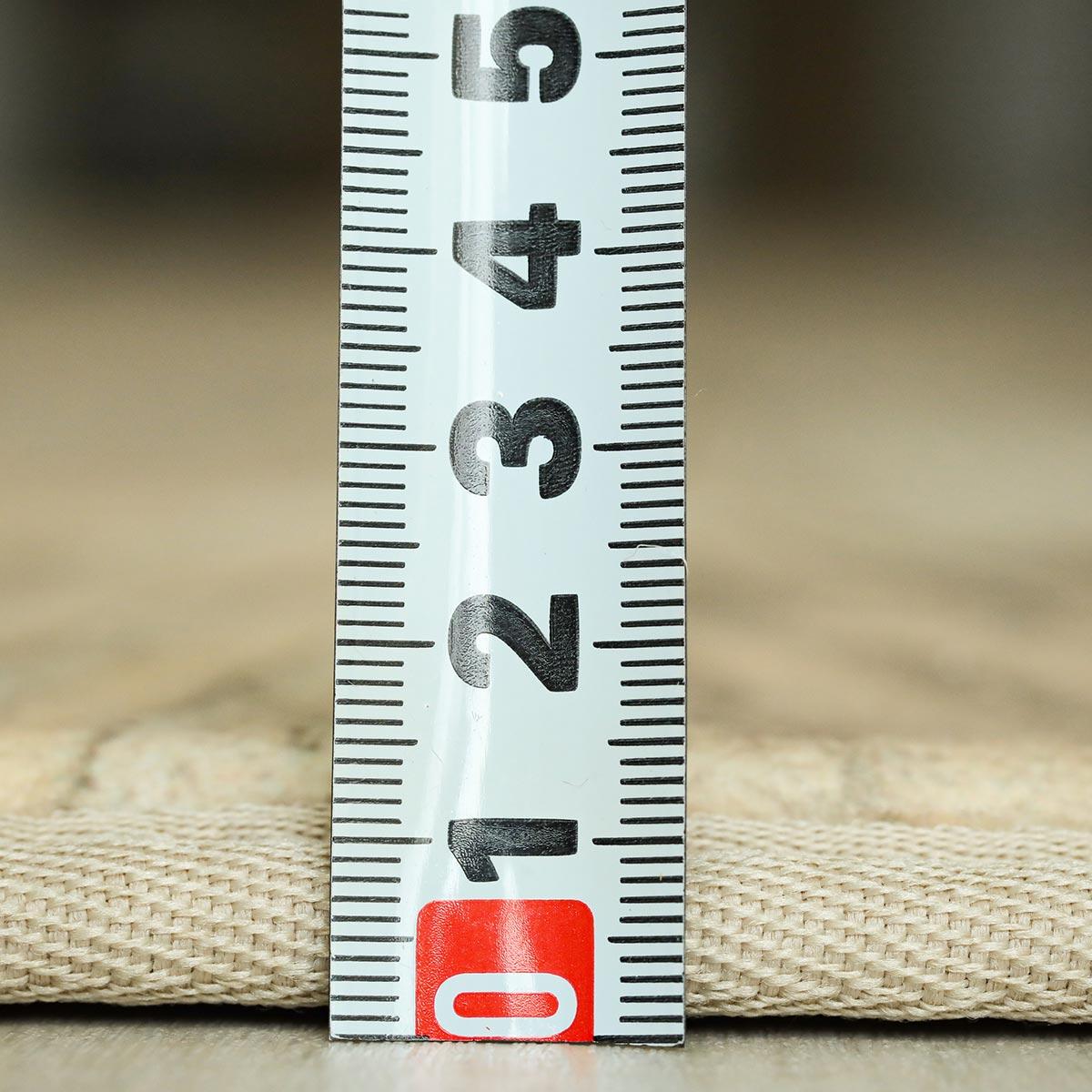 約13mm厚のウレタンでふっくらフワフワ