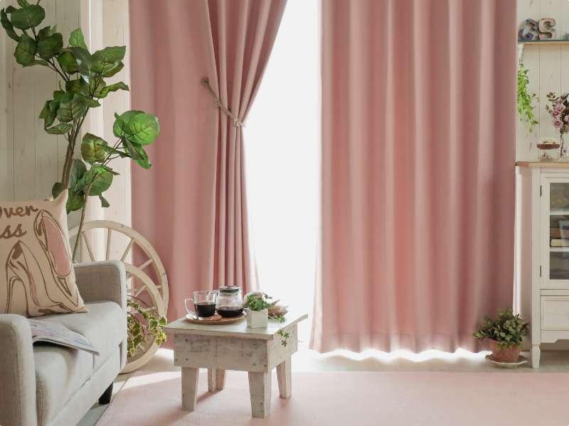パレットカーテン ピンク01