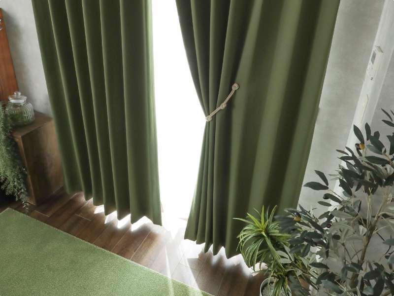 パレットカーテン グリーン01
