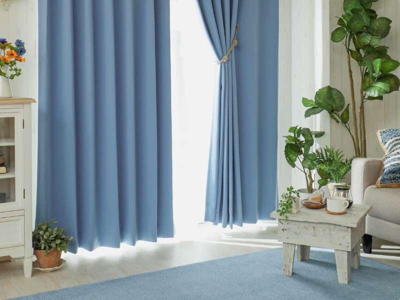 パレットカーテン ブルー01