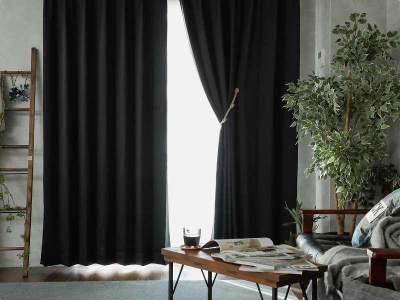 パレットカーテン ブラック01