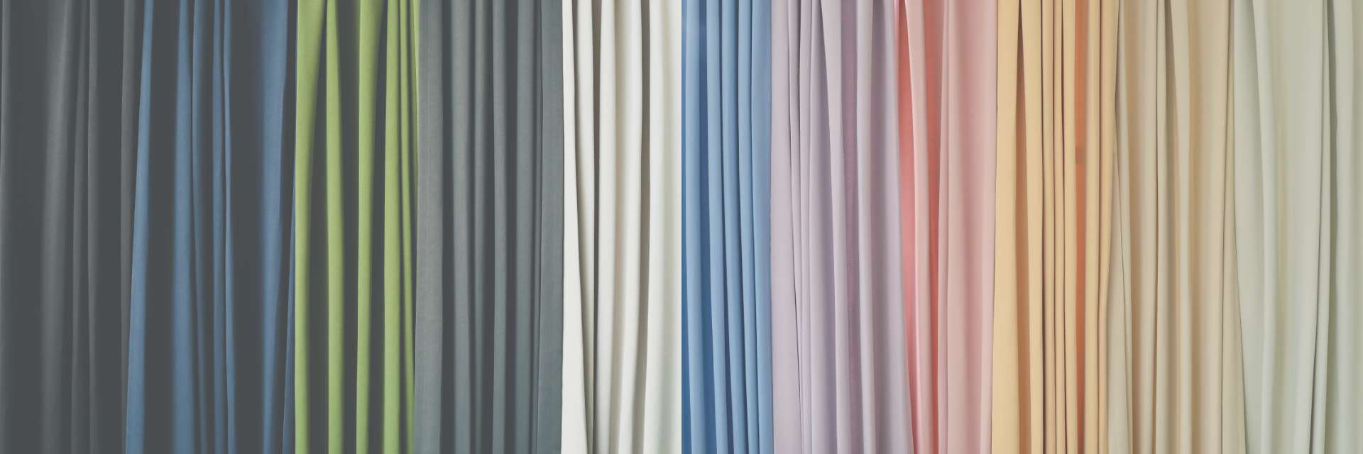 パレットカーテン カラーバリエーション