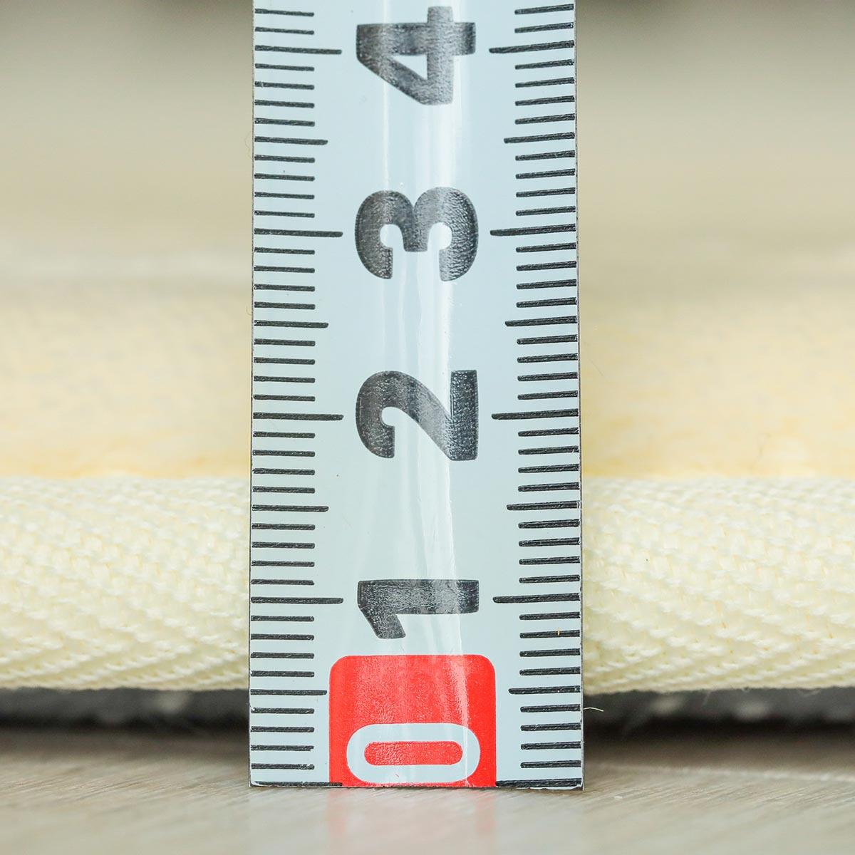 厚さ約20mm低反発ウレタンが気持ちいい