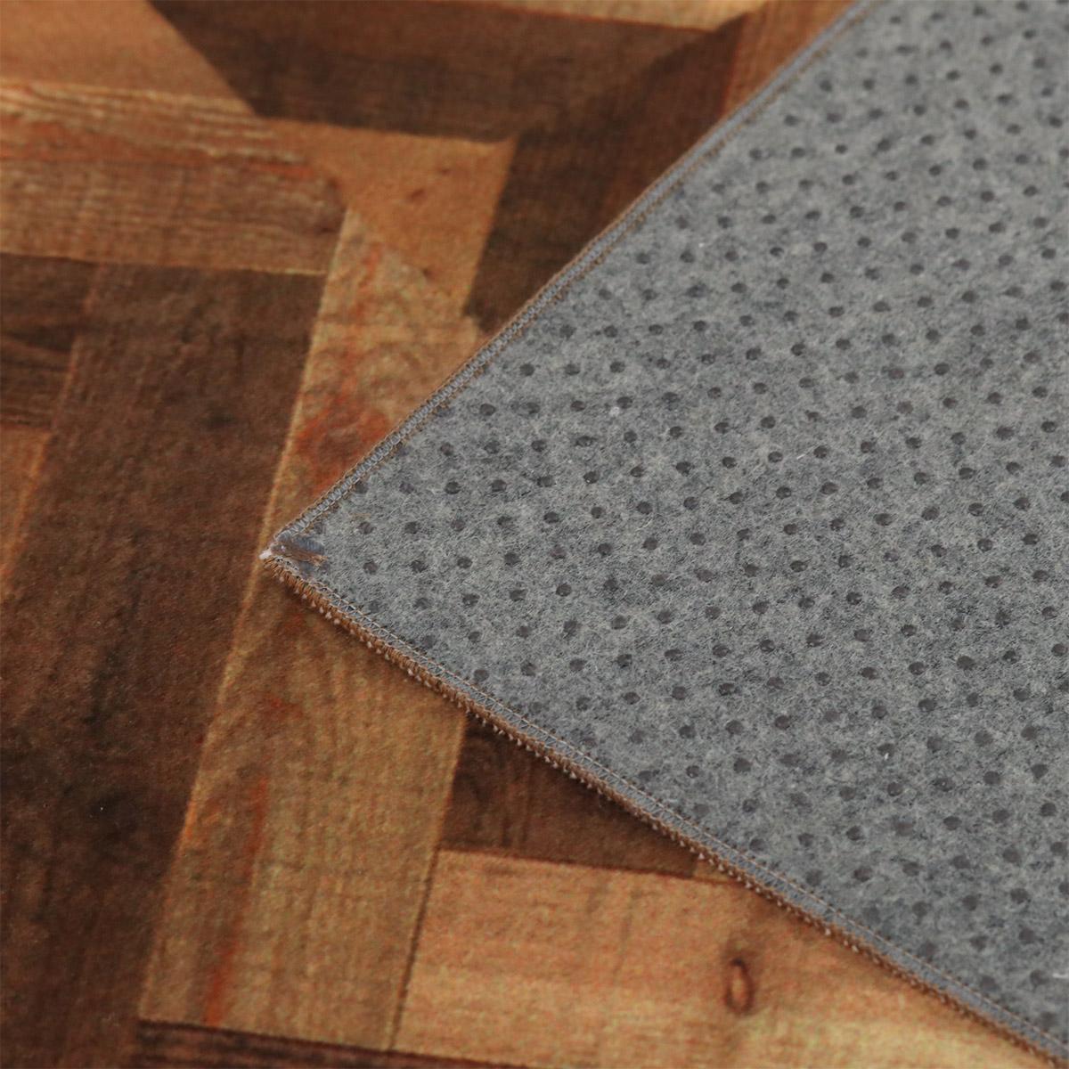 ホットカーペット・床暖房対応でスベリ止め付き。