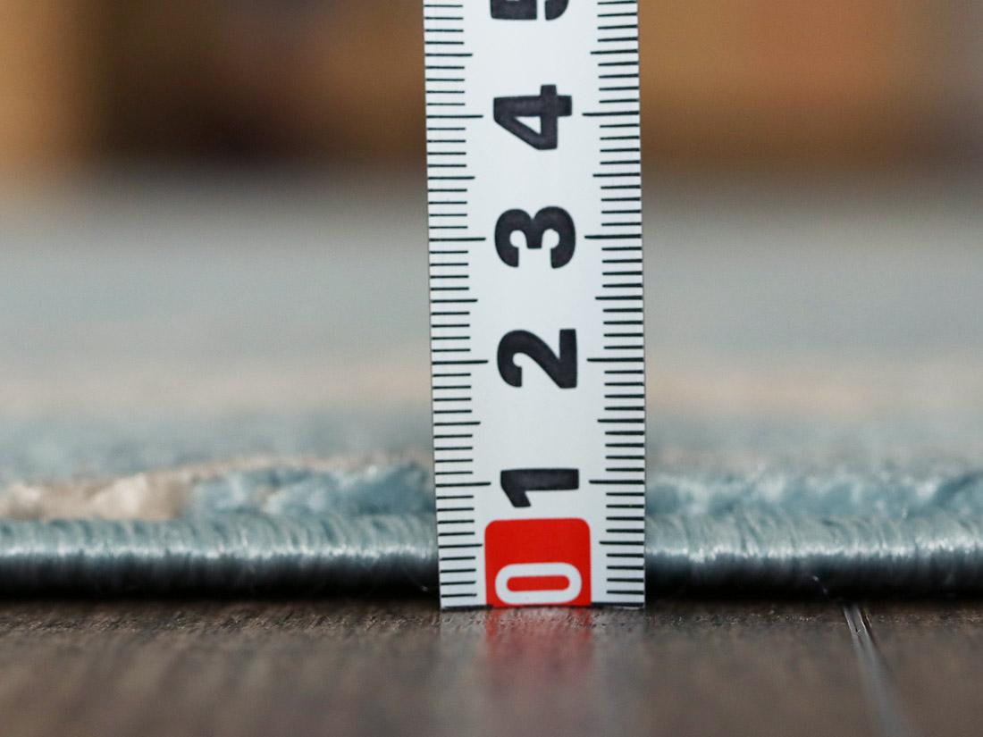 全厚約5mmで程よい厚み。