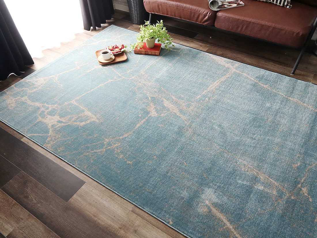 トルコ製ウィルトン織ラグ「マルモル」