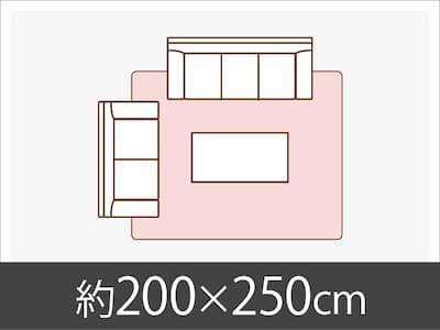 約200x250cm