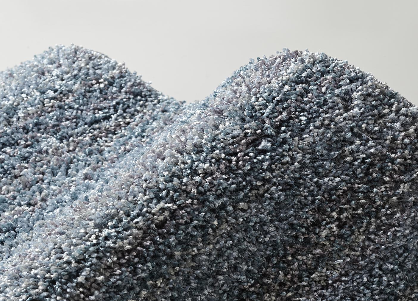 高機能&サイズ豊富な大人気ツイストシャギーラグ『ラックスアイスブルー』