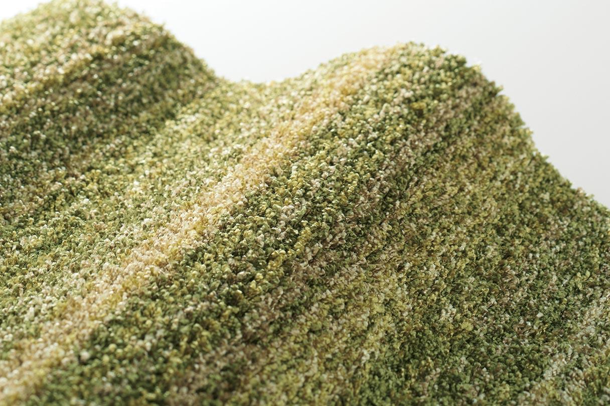 高機能&サイズ豊富な大人気ツイストシャギーラグ『ラックスモスグリーン』