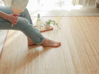 ひんやり竹ラグのイメージ