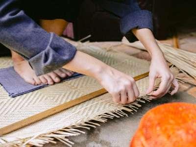 竹細工のイメージ