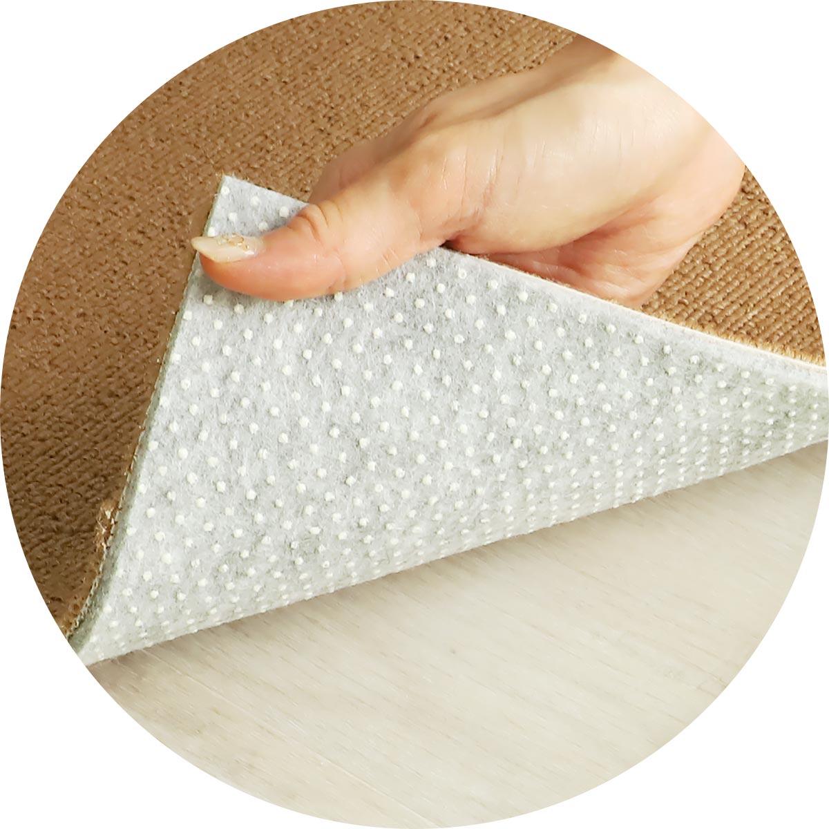 手洗いOK!消臭機能付き高機能タイルカーペット