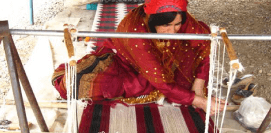 手織りギャッベ